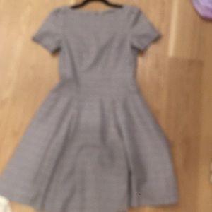 Plaid pleated dress